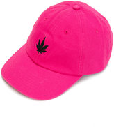 Palm Angels leaf print baseball cap
