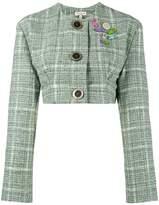 Natasha Zinko cropped tweed jacket