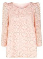 Claudie Pierlot Floral Lace Top