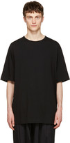 Yohji Yamamoto Black Back Logo T-Shirt