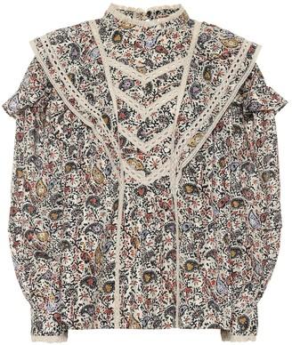 Etoile Isabel Marant Reign paisley cotton blouse