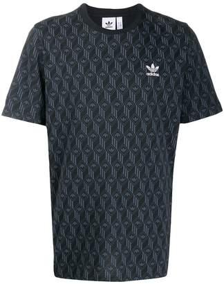 adidas Mono Allover logo T-shirt