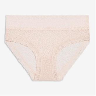 Joe Fresh Lace Boyshort, Light Pink (Size L)
