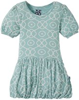 Kickee Pants Print Bubble Dress (Baby) - Jade Symphony-12-18 Months