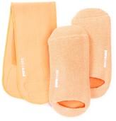 Pure Code Moisturizing Gel Socks & Neck Wrap Gift Set - Peach