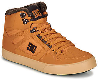 DC PURE HIGH-TOP WC WNT men's Shoes (High-top Trainers) in Brown