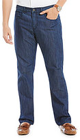 Perry Ellis Slim-Straight Coolmax Jeans
