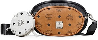 MCM Small Essential Visetos Original Crossbody Bag
