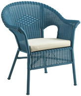 Pier 1 Imports Casbah Ocean Blue Stacking Chair