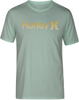 Hurley Men's One and Only Gradient Logo T-Shirt