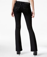 Rock Revival Celene Black Wash Bootcut Jeans, Only at Macy's