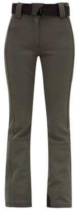 Pippa Goldbergh Belted Soft-shell Ski Trousers - Womens - Khaki
