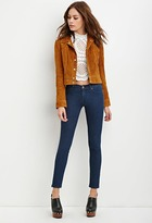 Forever 21 Low-Rise Skinny Jeans