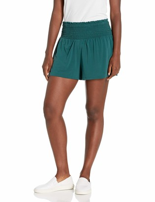 BCBGeneration Women's Smocked Waist Short