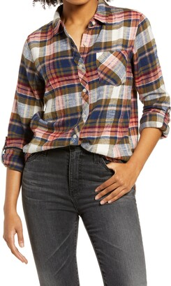 Thread & Supply Wendalyn Plaid Button-Up Shirt