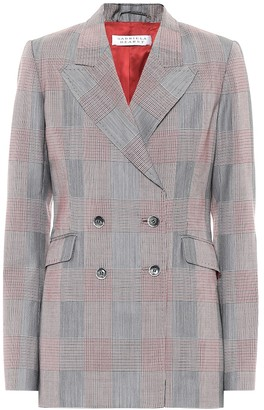 Gabriela Hearst Exclusive to Mytheresa Angela checked wool blazer
