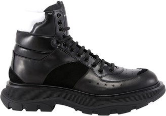 Alexander McQueen Lace-up High-top Sneakers