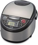 Tiger Multi-Functional Micom 5.5-Cup Rice Cooker and Warmer in Black