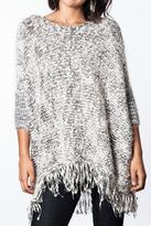 Umgee USA Fringe Knit Sweater