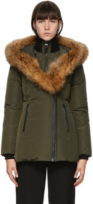 Mackage Khaki Down and Fur Adali Parka