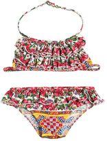 Dolce & Gabbana Mambo Print Lycra Bikini