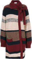 Chloé striped mohair cardigan - women - Acrylic/Polyamide/Cashmere/Wool - S