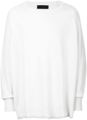 Haider Ackermann oversized ribbed sweater