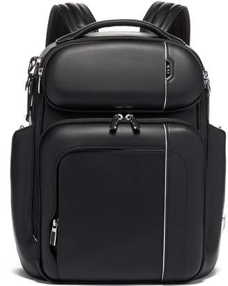 Tumi Arrive Leather Barker Backpack