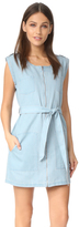 BB Dakota Jack by Stefania Chambray Zip Front Dress
