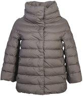 Herno Nylon Padded Jacket With 3/4 Sleeves