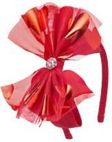 Crazy 8 Heart Bow Headband