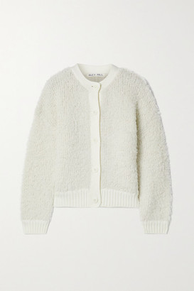 Alex Mill Merino Wool-blend Cardigan - Ivory