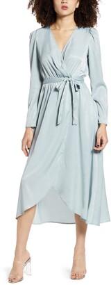 Vero Moda Julia Wrap Midi Dress