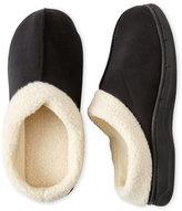Dearfoams Sherpa Cuff Clog Slippers