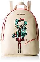 Love Moschino Moschino, Women's Backpack Handbag, Elfenbein (Ivory), 10x28x22 cm (B x H T)