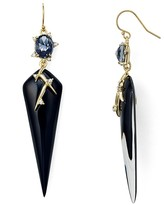 Alexis Bittar Satellite Crystal Spike Drop Earrings