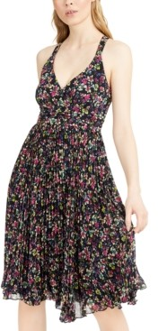 Nanette Lepore Printed Crossback Dress