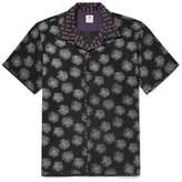 SASQUATCHfabrix. Camp-Collar Printed Lyocell-Blend Shirt