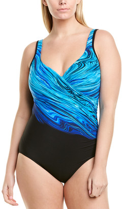 Miraclesuit It's A Wrap Plus One-Piece