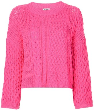 Jason Wu Long Sleeve Knitted Top