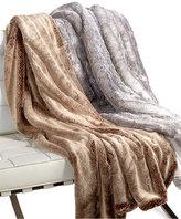 Hotel Collection Faux Fur Throw