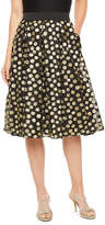 Ronni Nicole Womens Midi Flared Skirt