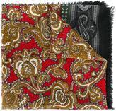 Alexander McQueen paisley scarf