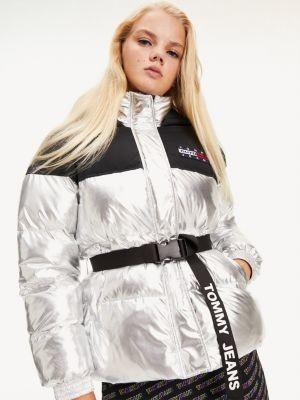 Tommy Hilfiger Metallic Outdoor Puffer Jacket