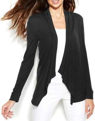 INC International Concepts Petite Long-Sleeve Open-Front Cardigan