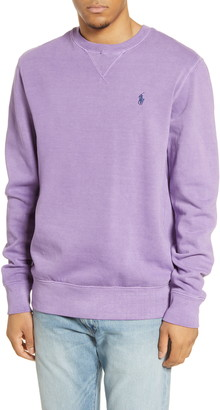 Polo Ralph Lauren Cotton Blend Crewneck Sweatshirt