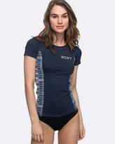 Roxy Womens Strappy Love Short Sleeve Rash Vest