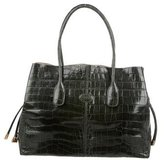 Tod's Alligator Lady D Tote