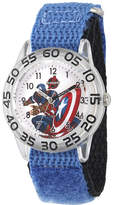 Marvel Captain America Boys Blue Strap Watch
