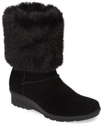 Taryn Rose Erica Faux Fur Weatherproof Boot